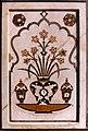 Agra-36-Grabmal des Itimad-ud-Daulah-Pietradura-Arbeit-1976-gje.jpg