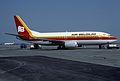 Air Belgium Boeing 737-3Q8; OO-ILF, July 1986 AZZ (5056731383).jpg