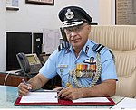Air Marshal Anil Khosla took over as the Vice Chief of Air Staff, in New Delhi on October 01, 2018.jpg