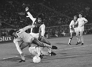 Chris Hughton - Chris Hughton in 1981, Ajax vs Spurs