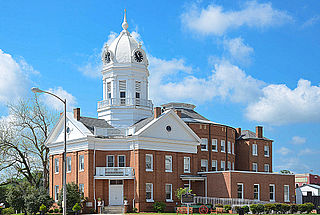 Old Monroe County Courthouse United States historic place