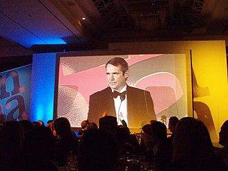 Alan Hansen - Alan Hansen presenting an award in 2006