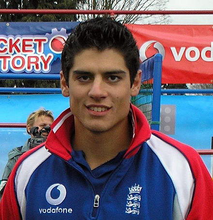 Alastair Cook in 2006