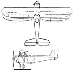 Albatros L.68 2-view Le Document aéronautique June,1927.png