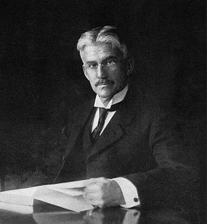 Albert Henry Munsell - Photograph of Munsell from A Color Notation