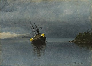 Wreck of the Ancon in Loring Bay, Alaska