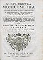 Alberti, Giuseppe Antonio – Nuova dioptra monicometra, 1758 – BEIC 13306535.jpg
