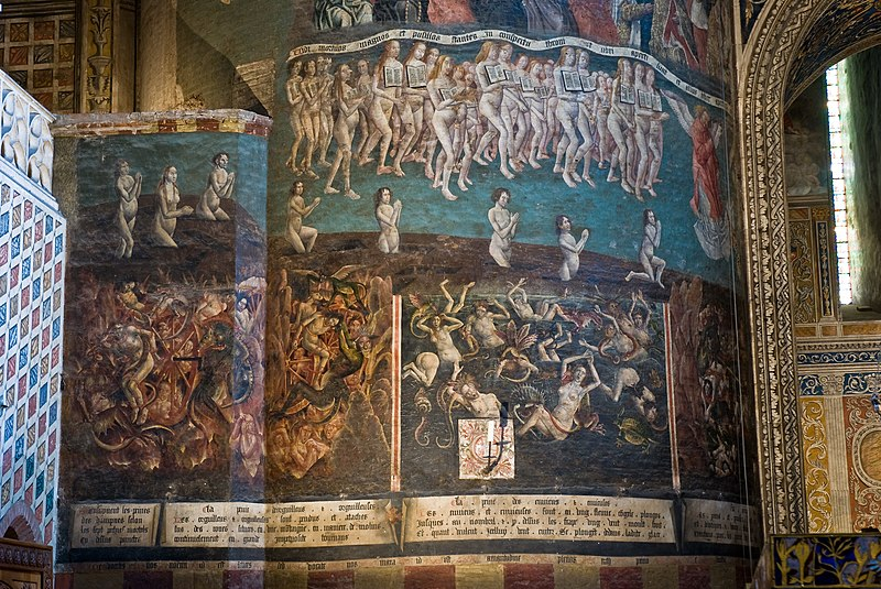 Fichier:Albi cathedral - fresco 2.jpg