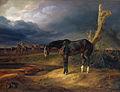 Albrecht Adam - Herrenloses Pferd auf dem Schlachtfeld bei Moschaisk.jpg