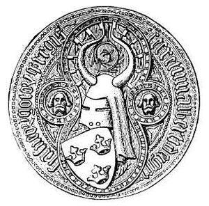 Albert, King of Sweden -  Royal Seal of Albert of Sweden