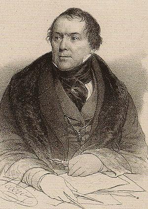 Alessandro Sanquirico - Alessando Sanquirico (Litho  Roberto Focosi, 1822)