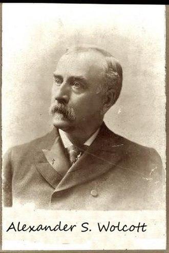 Alexander S. Wolcott - circa 1843