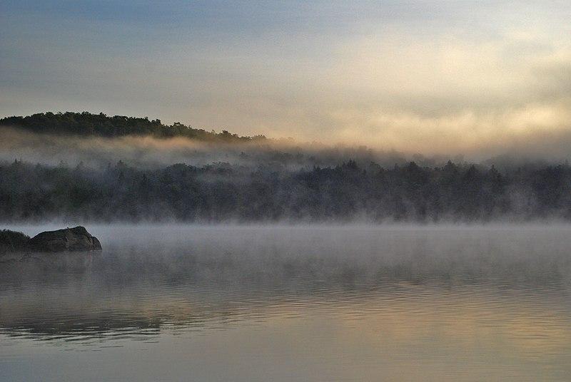 File:Algonquin PP Rock Lake morning mist 2008.jpg