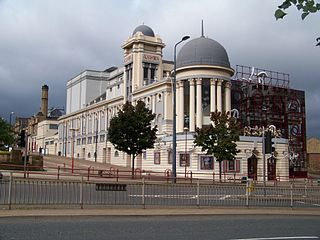 Bradford Alhambra Theatre in Bradford, West Yorkshire, England
