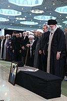 Ali Khamenei Praying for Ayatollah Hashemi Shahroudi012.jpg