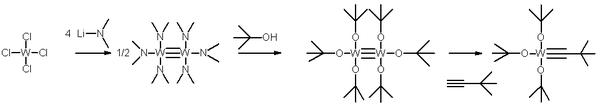 triple bond metathesis