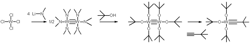 schrock alkyne metathesis catalyst Alkyne metathesis is an organic reaction fischer carbenes have no value in alkyne or alkene metathesis the schrock catalyst is commercially available and is.
