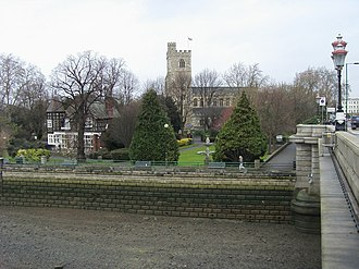 All Saints Church, Fulham - Image: All Saint's Church geograph.org.uk 1088482