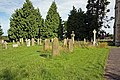 All Saints, Staveley, North Yorkshire - Churchyard - geograph.org.uk - 979071.jpg