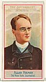Allan Forman, The New York Journalist, from the American Editors series (N1) for Allen & Ginter Cigarettes Brands MET DP827841.jpg