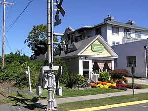 Allenhurst, New Jersey - The old Allenhurst Railroad Station