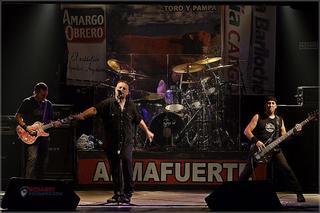 Almafuerte (band) Argentine metal band