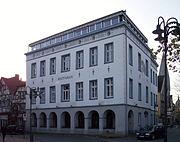 Altes Rathaus in Kamen, heute Sitz der Stadtbücherei