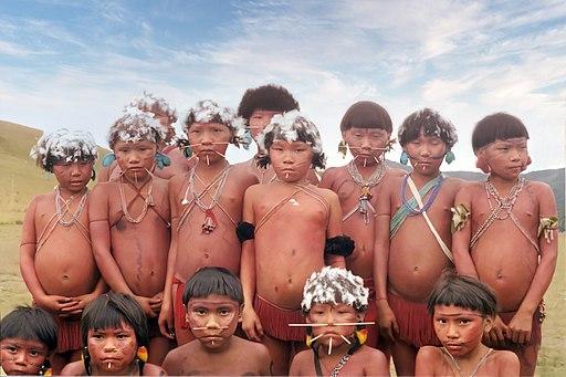 etnia Yanomami del Estado Amazonas en venezuela