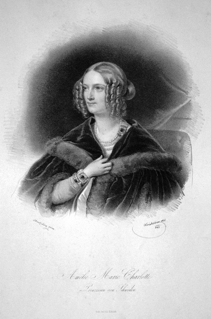 Amalie Marie Charlotte von Schweden Litho.jpg