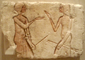 AmarnaRelief-LivelyDiscussionOfGuards BrooklynMuseum.png