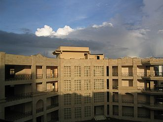 West Bengal National University of Juridical Sciences - Dr. Ambedkar Bhavan (University academic block)