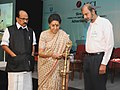 """Ambika Soni lighting the lamp to inaugurate the Conference on """"Strengthening Self Regulation of Advertising Content"""", organised by the Advertising Standards Council of India (ASCI).jpg"""
