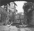 Ammerkanal am Lustnauer Tor - Auslass in den Mühlgrabenkanal um 1900 (TSiW062B).jpg