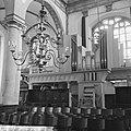Amsterdam. Interieur van de Westerkerk met gaanderij en het kleine orgel, Bestanddeelnr 918-1339.jpg