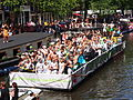 Amsterdam Gay Pride 2013 Are you ready for the gay future boat pic2.JPG