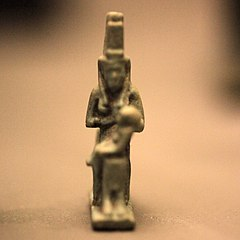 Amulet of Isis lactans-MAHG 005516
