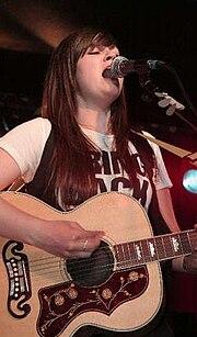 Amy Macdonald live; Quelle: de.wikipedia.org