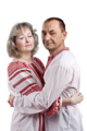 An Ukrainian couple wearing vyshyvankas.png