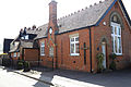 An old school, Manning Prentice Memorial School, on The Street at High Easter, Essex, England2.jpg