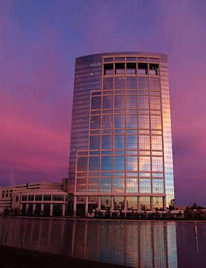 Anadarko Petroleum - Allison Tower, the headquarters of Anadarko Petroleum Company.