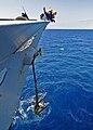 Anchor raising - USS Vella Gulf (CG 72) - 081027-N-1082Z-045.jpg
