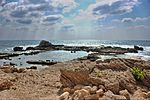 Ancient remains of the coastal city of Caesarea, Israel (29793352776).jpg