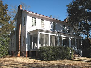 Flannery O'Connor - Andalusia Farm, where O'Connor lived from 1952 to 1964