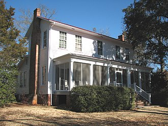 National Register of Historic Places listings in Baldwin County, Georgia - Image: Andalusia (farmhouse); Milledgeville, Georgia; January 29, 2011