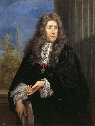 André Le Nôtre - A portrait of André Le Nôtre by Carlo Maratta