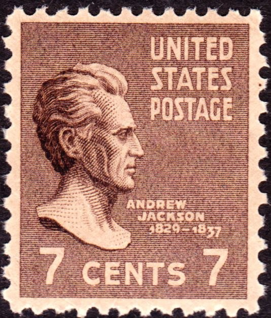 Andrew Jackson 1938 Issue-7c