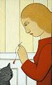 Andrew Stevovich oil painting, Mookie, 2014.jpg