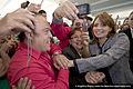 Angélica Rivera de Peña en la Toma de Protesta de Enrique Peña Nieto como Candidato del PVEM. (6877927855).jpg