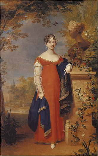 Anna Pavlovna of Russia - Anna Pavlovna of Russia, between 1824 and 1825.