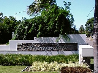 Annandale, Queensland - Image: Annandale sign 2